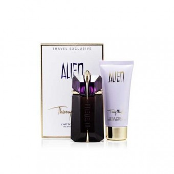 Set Thierry Mugler Alien 60ml + Body Lotion 100ml