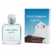 D&G Light Blue Living in Stromboli